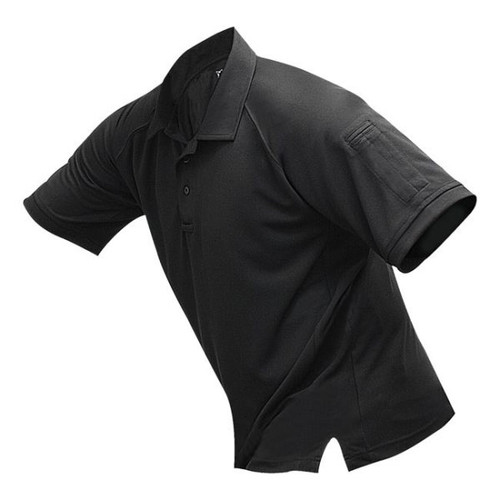Vertx VTX4000 Men's Short Sleeve Polo with Coldblack