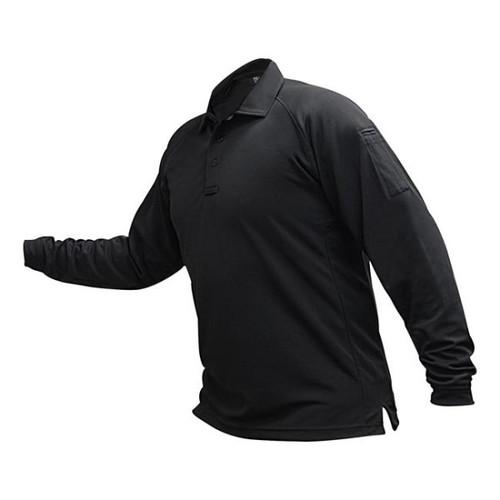 Vertx VTX4020 Men's Long Sleeve Polo with Coldblack