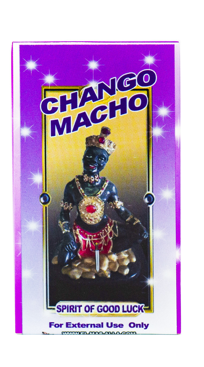 Jabon Chango Macho (Spirit of Good Luck Soap)