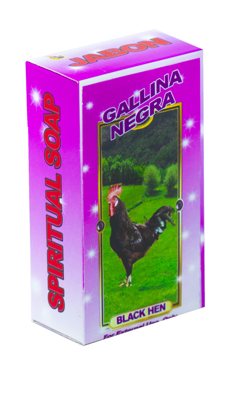 Jabon Gallina Negra (Black Hen)