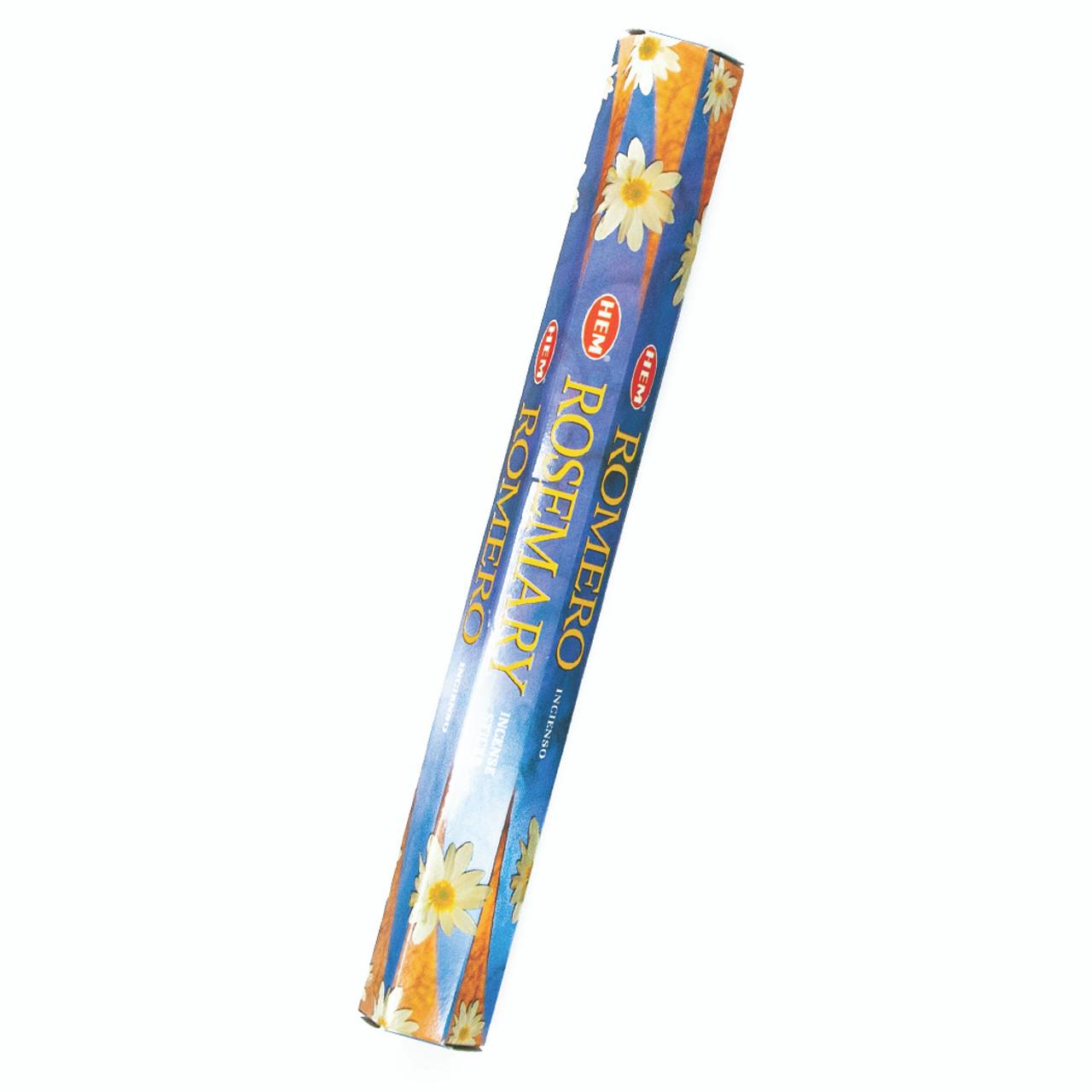Incienso Exagonal Romero (Rosemary Incense Sticks)