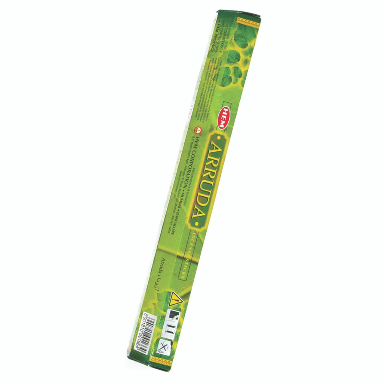 Incienso Exagonal Ruda (Sage Incense Sticks)