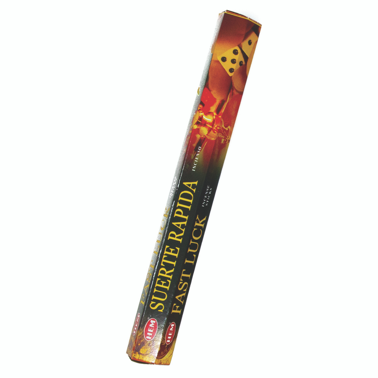 Incienso Exagonal Suerte Rapida (Fast Luck Incense Sticks)