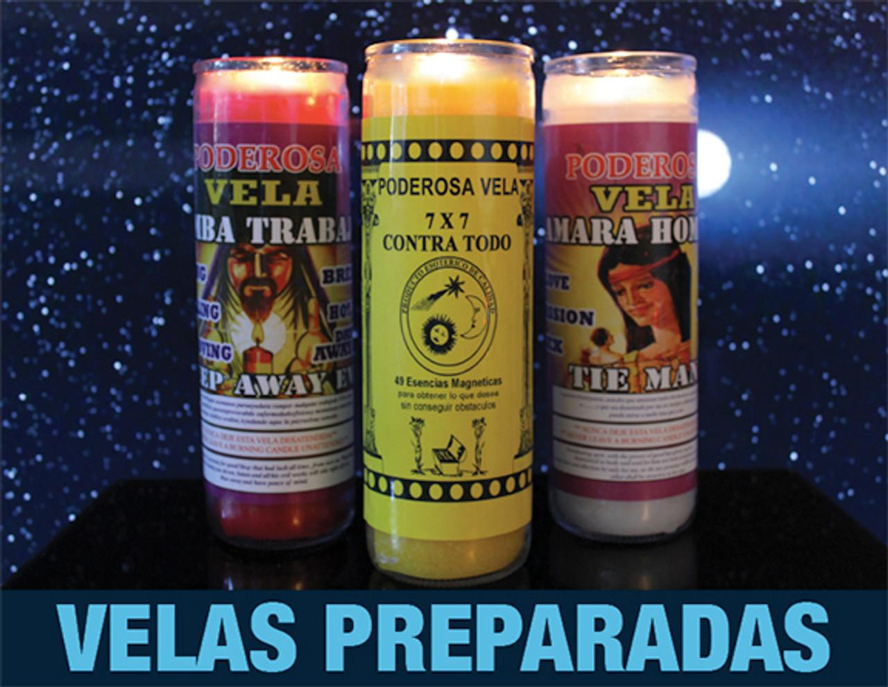 Vela Compuesta Y Preparada - Fix Candle