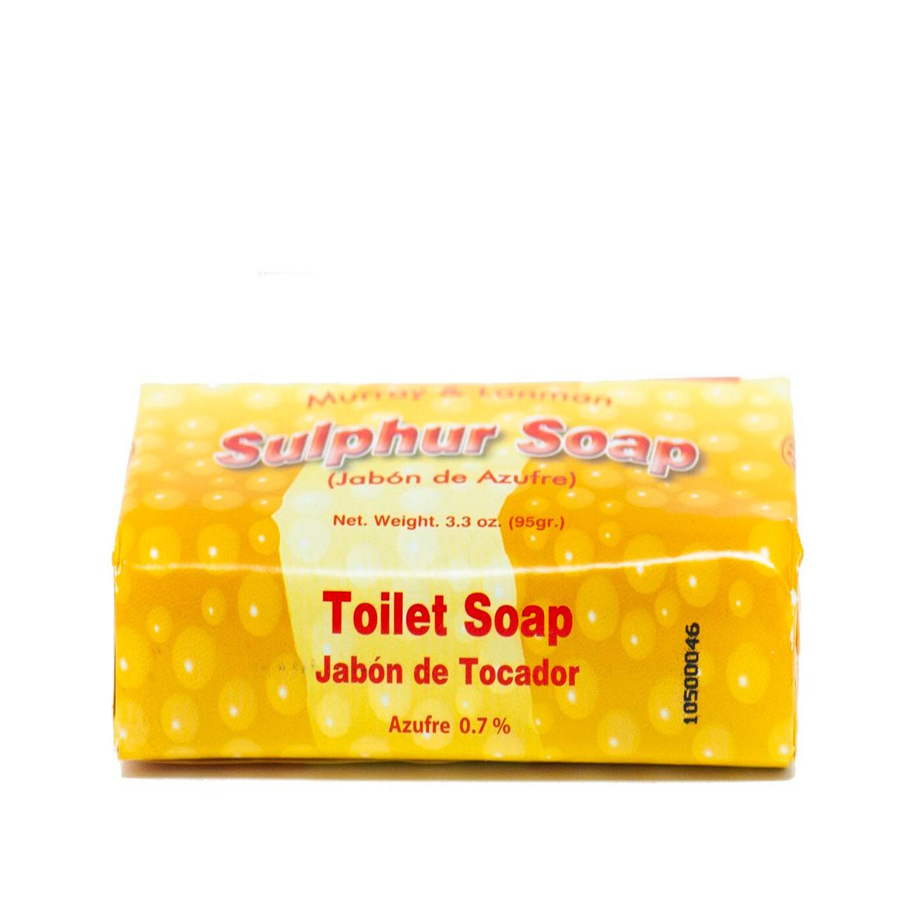 JABON DE AZUFRE (SULPHUR SOAP)