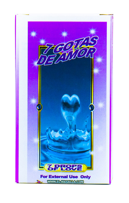 Jabon 7 Gotas De Amor (7 Drops Of Love Soap)