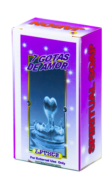 Jabon 7 Gotas de Amor (7 Drops of Love Soap)