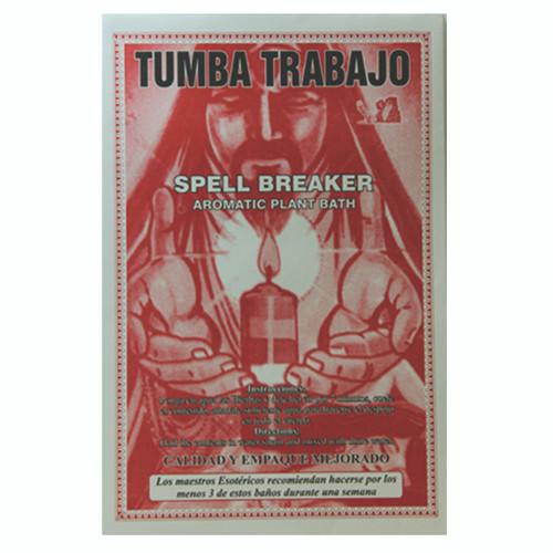 Planta en Sobre Tumba Trabajo (Spell Breaker Plant Bath)