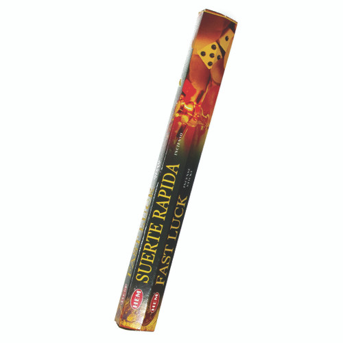 Incienso Exagonal Suerte Rapida (Fast Luck Incense Sticks)