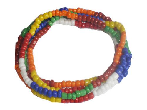Collar 7 Potencias- Glass Beaded Necklace