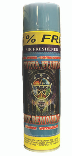 religious and esoteric air freshener o spray para limpias corta fluidos