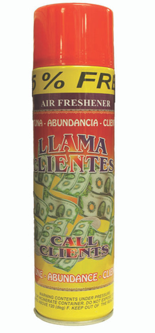 religious and esoteric air freshener o spray para limpias llama clientes