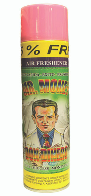 religious and esoteric air freshener o spray para limpias mr money
