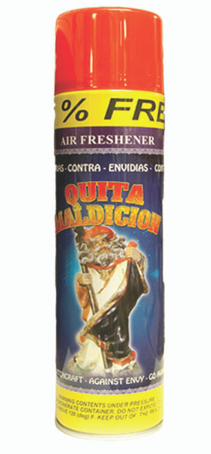religious and esoteric air freshener o spray para limpias quita maldicion