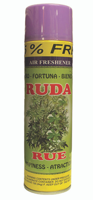 religious and esoteric air freshener o spray para limpias ruda