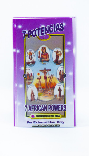 JABON 7 POTENCIAS (7 AFRICAN POWERS BAR SOAP)