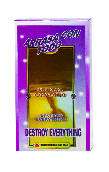 JABON ARRASA CON TODO (DESTROY EVERYTHING SOAP)