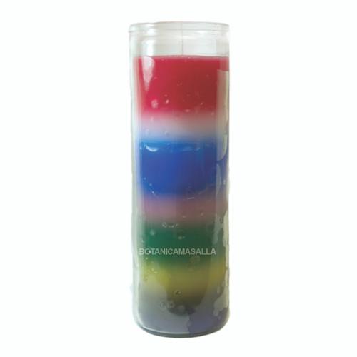 Vela 7 Dias 7 Colores