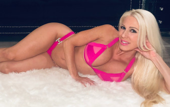 Hot pink coco bikini