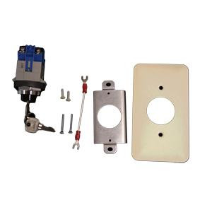 Heavy Duty Momentary Indoor Key Switch Ivory faceplate 1800333