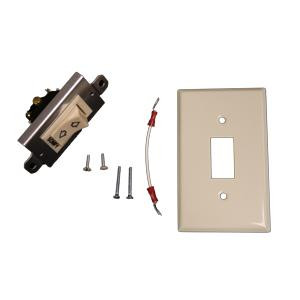 Maintained Rocker Switch Kit with Standard Plate Ivory 1800341 White 1800342