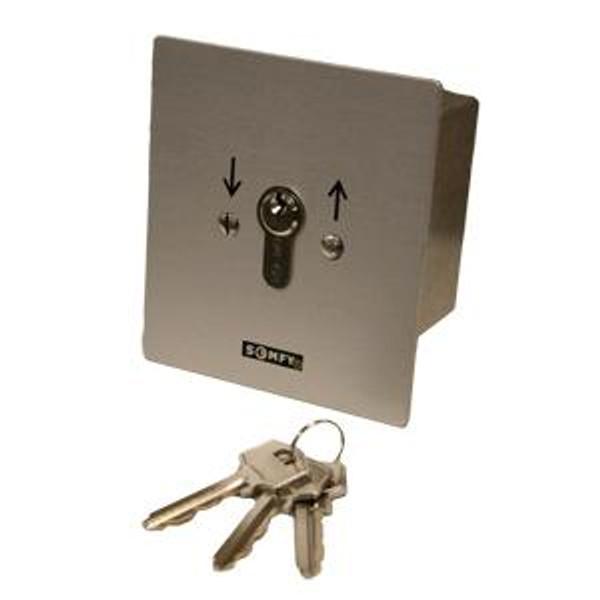 Heavy Duty Momentary Outdoor Key Switch Flush Mount 1800353