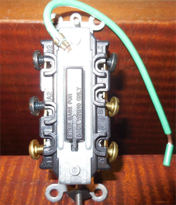 Maintained Paddle Switch Double Pole White 1800375 Ivory 1800376