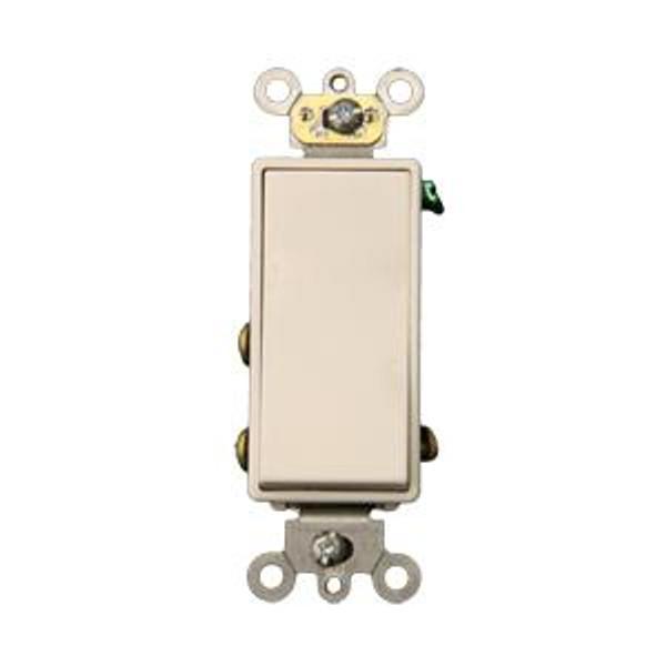 Maintained Paddle Switch Single Pole White 1800374 Ivory 1800373