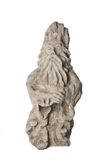 large wizard stone garden statue