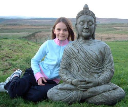 Large sitting Buddha