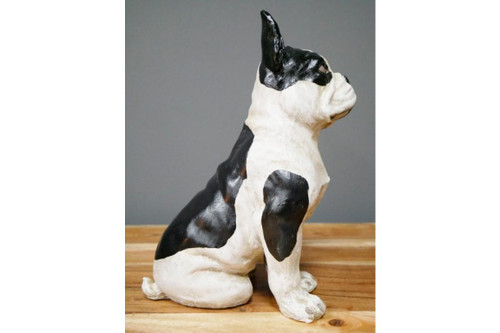 Sitting French bulldog Garden and Home ornament
