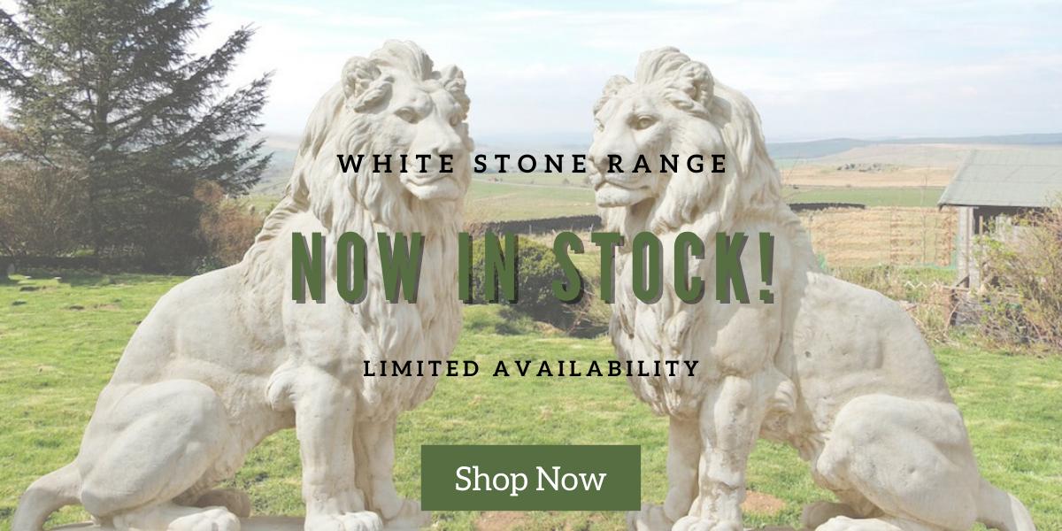 Shop large lion statues at discount garden statues
