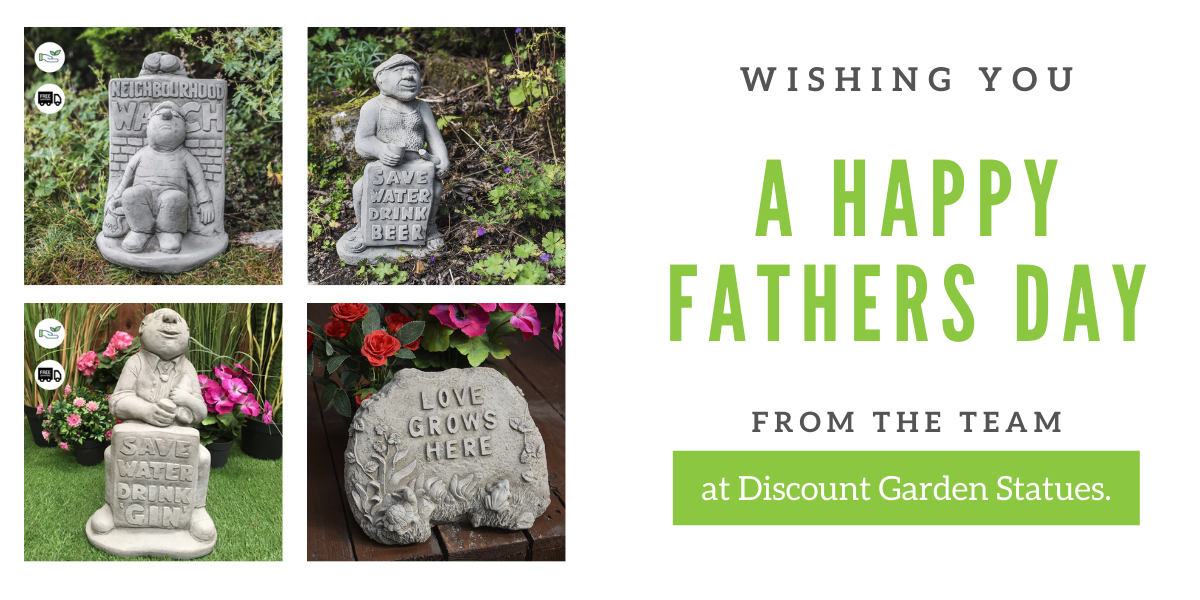 Fathers Day Sale at Discount garden statues