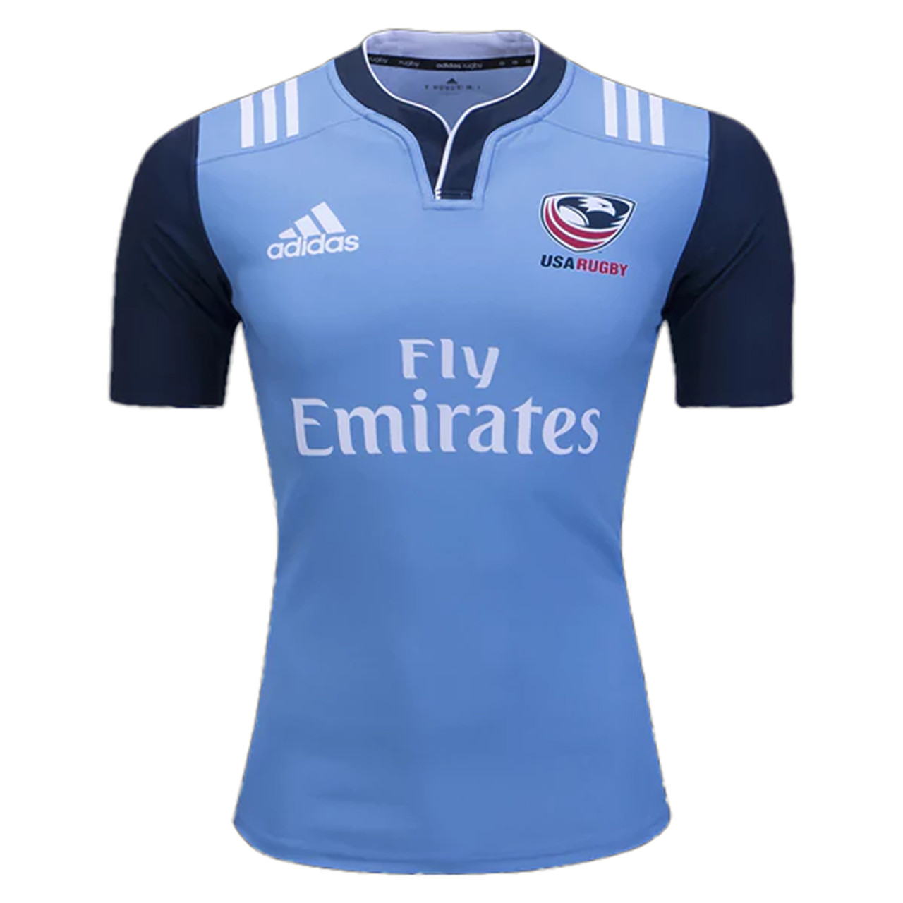 best website 366c6 0435f USA Rugby 2017 Training Rugby Jersey - Blue