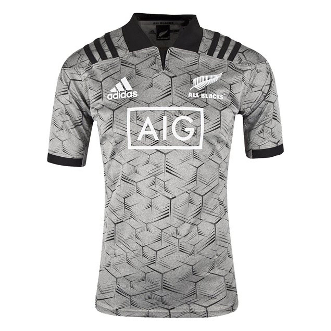 finest selection 89dc6 6f819 New Zealand All Blacks Training Jersey 2018/19