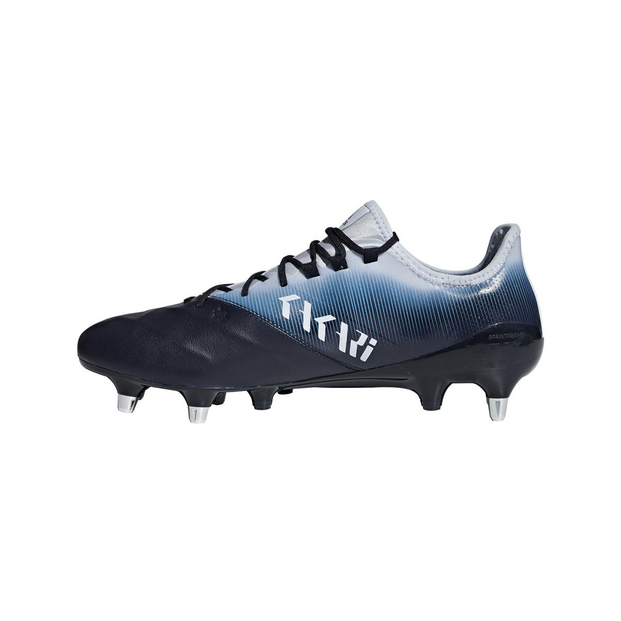 Kakari Light SG Rugby Boots Legend Ink Shock Cyan Aero Blue