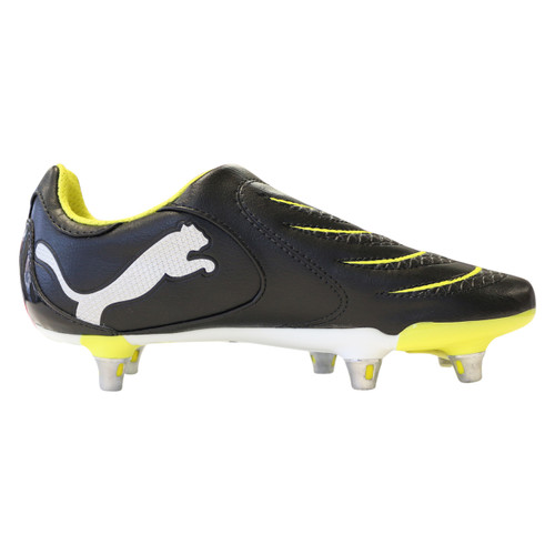 Puma - Powercat 3.10 Rugby Jr Boots - Black/Yellow