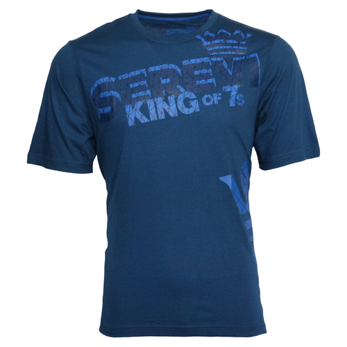 Serevi King of Sevens T-Shirt - Blue | Rugby City