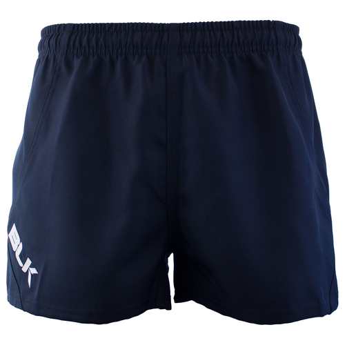 BLK TEK Junior Rugby Shorts - Navy | Rugby City