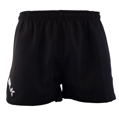 BLK TEK Junior Rugby Shorts - Black | Rugby City