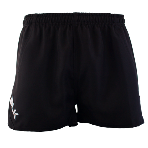 BLK TEK Junior Rugby Shorts - Black | Rugby City