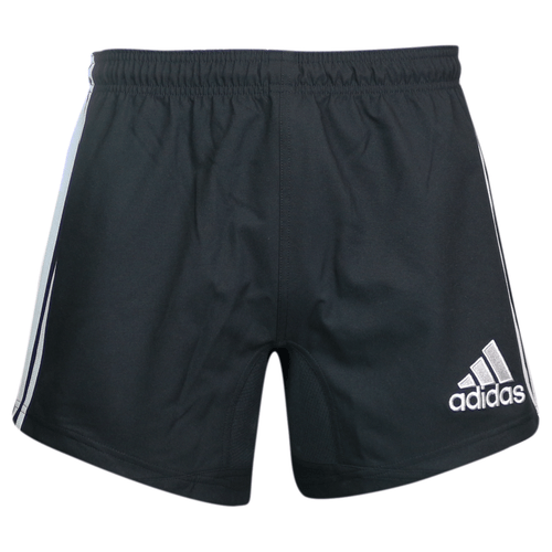 Adidas 3-Stripes Performance Rugby Shorts - Black | Rugby City