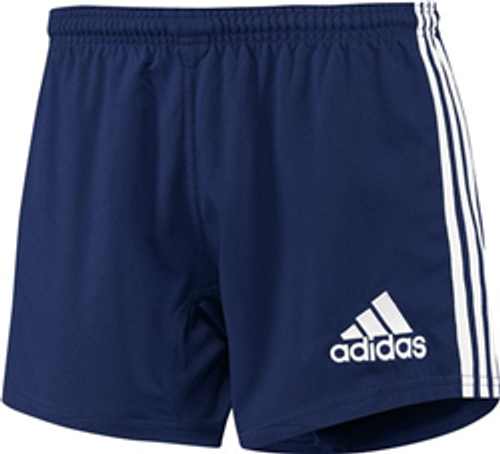 Adidas 3-Stripes Performance Rugby Shorts - Navy | Rugby City