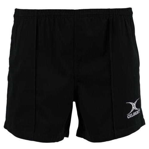 Gilbert Kiwi Pro Youth Rugby Shorts - Black | Rugby City