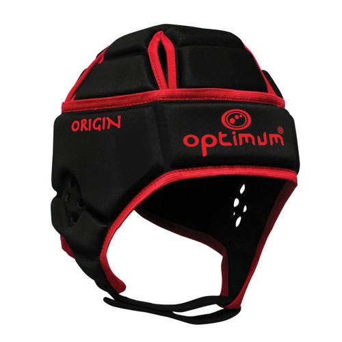 Optimum Origin Hedweb Classic Scrum Cap Black/Red