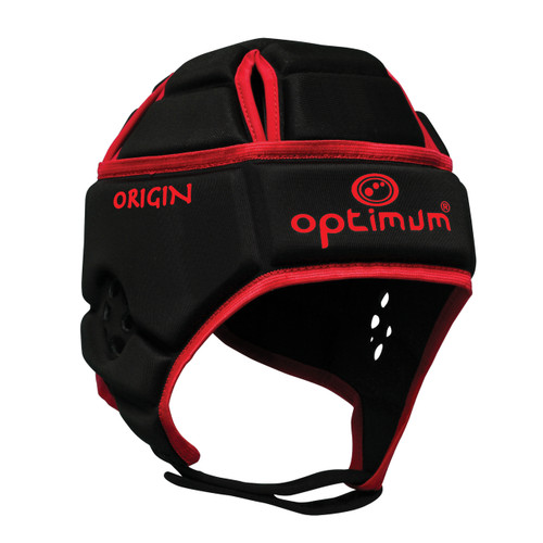 Optimum Origin Hedweb Classic Scrum Cap Black/Red