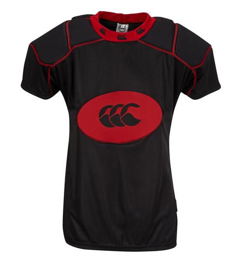 Canterbury Club Shoulder Vest - Black/Red | Rugby City