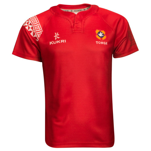 Tonga Home 2015 Youth Rugby Jersey