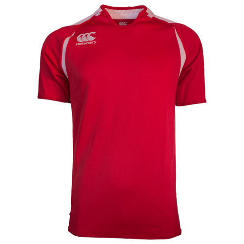 Canterbury Challenge Rugby Jersey - Scarlet/White | Rugby City