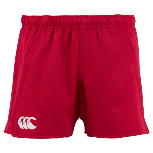 Canterbury Advantage Rugby Shorts  (Flag Red) | Rugby City